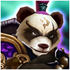 Panda Warrior dark