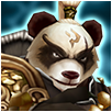 Panda Warrior light