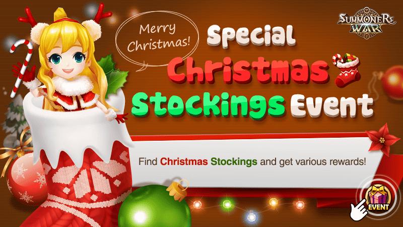 Merry Christmas - Special Christmas Stockings Event