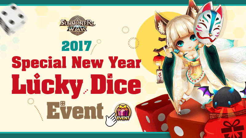 Special New Year Lucky Dice Event