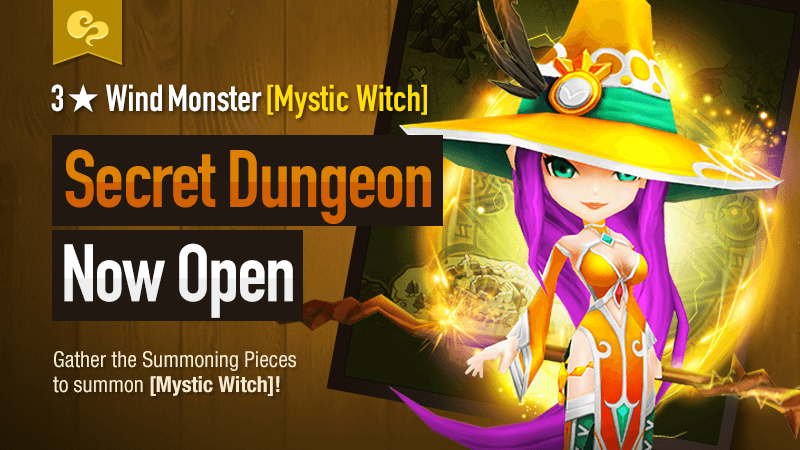 Secret Dungeon Mystic Witch Wind