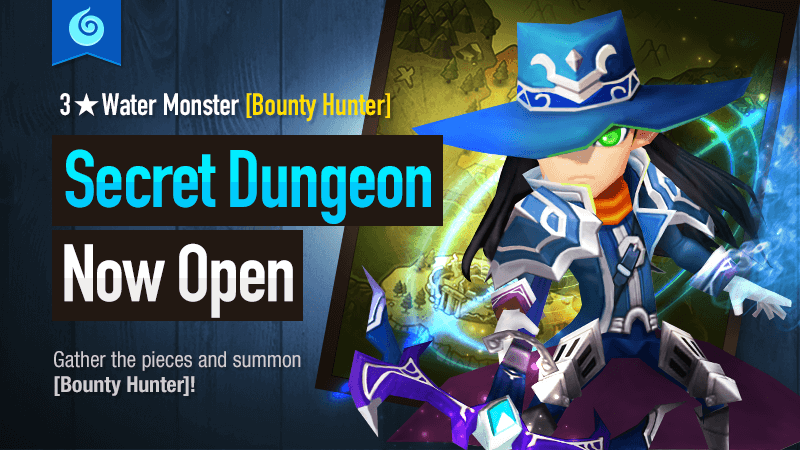 Secret Dungeon Bounty Hunter Water