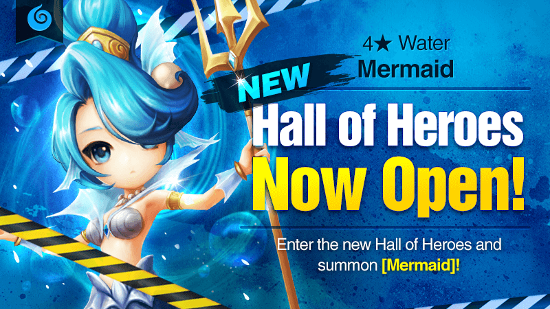 December Hall of Heroes - 4 Mermaid Water