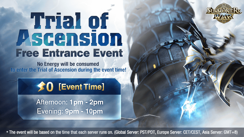 Trial of Ascension Free Entrance Event December 2017