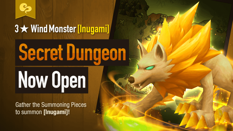 Secret Dungeon Inugami Wind