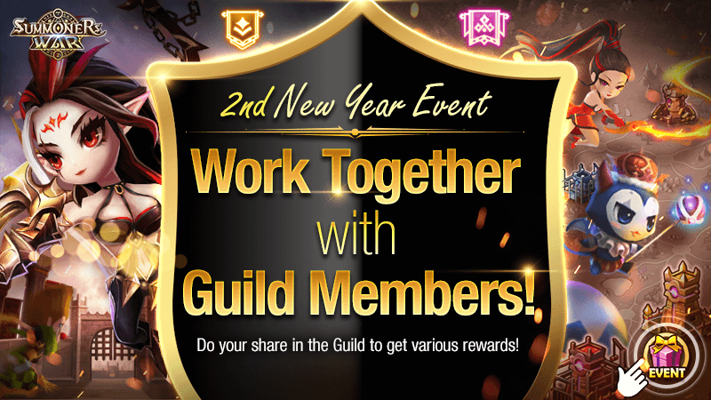 2nd New Year Event Work Together with Guild Members