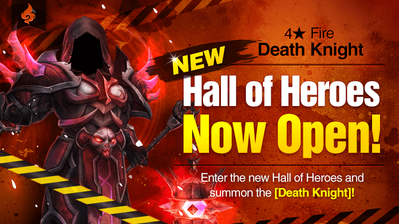 JanuaryHall of Heroes - 4 Death Knight Fire