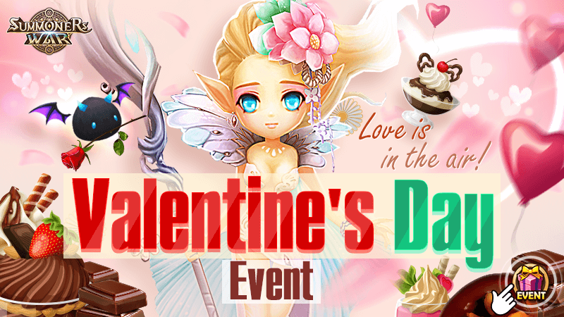Love is in the air Valentines Day Event