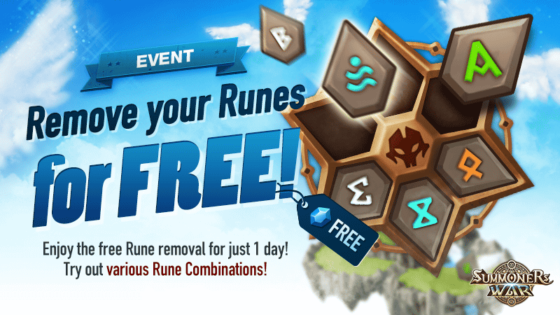 Free Rune Removal Event February 2018