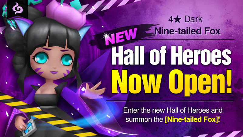 March Hall of Heroes - 4 Nine-tailed Fox Dark