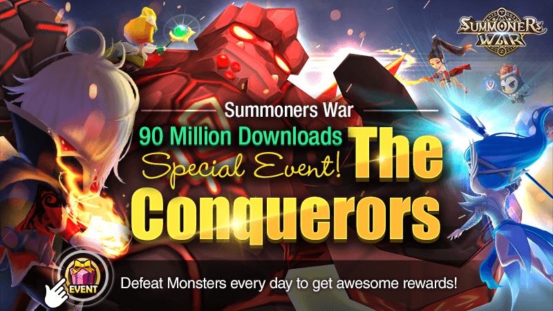 90 Million Downloads Special - The Conquerors Event