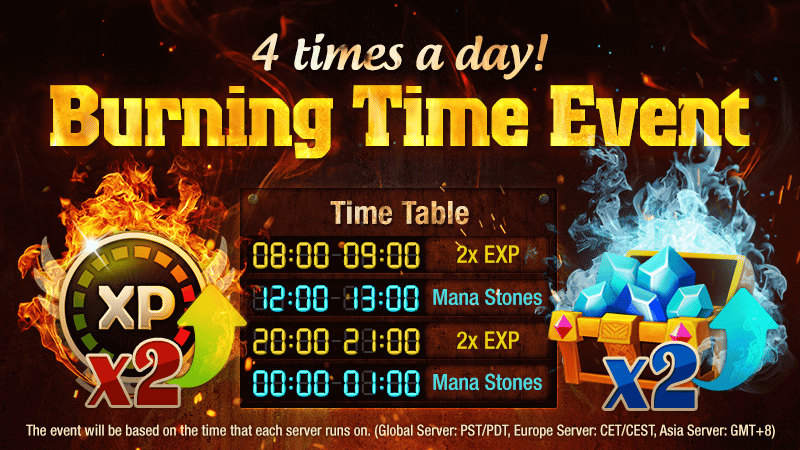 Surprise Burning Time Event