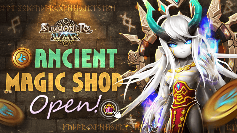 Ancient Magic Shop Open Event