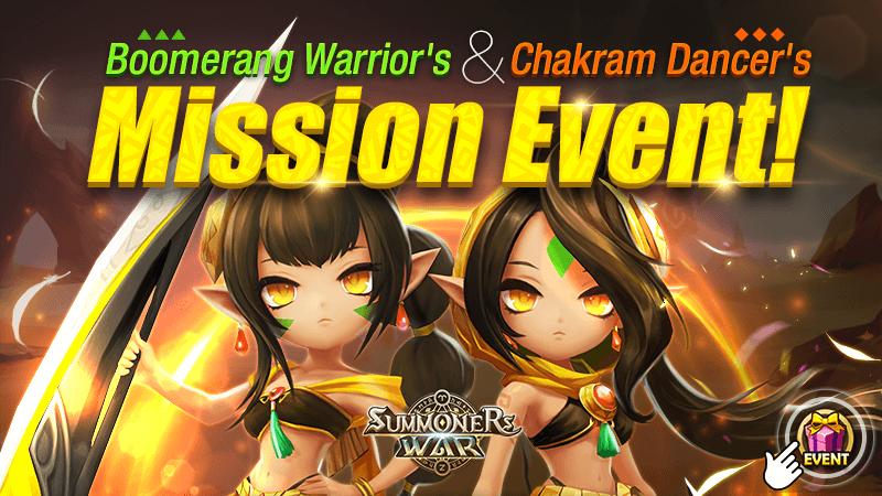 Boomerang Warriors Chakram Dancers Mission Event