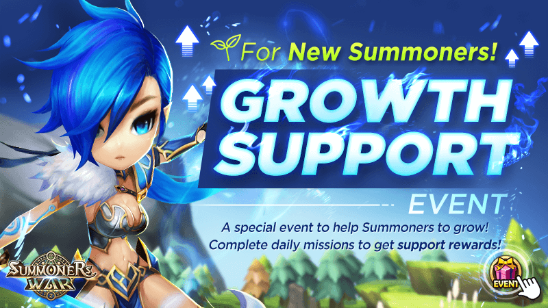 For New Summoners Growth Support Event