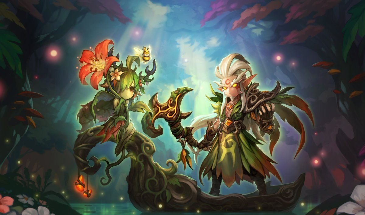druid and dryad coming soon summoners war monsters