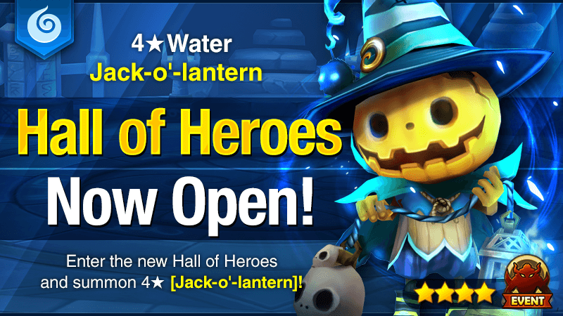 October Hall of Heroes - 4 Jack-o-lantern Water