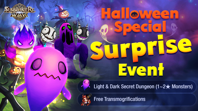 Halloween Special Surprise Event
