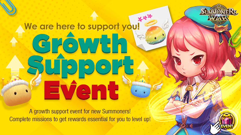 We are Here to Support You Growth Support Event