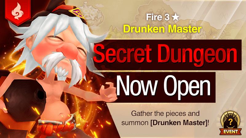 Secret Dungeon Drunken Master Fire