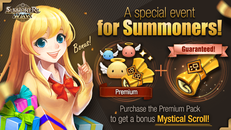 A Special Premium Pack Event for Summoners