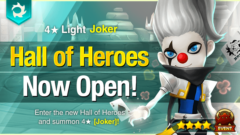 May Hall of Heroes - 4 Light Joker