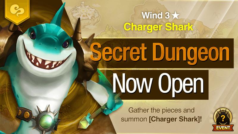 Secret Dungeon Charger Shark Wind