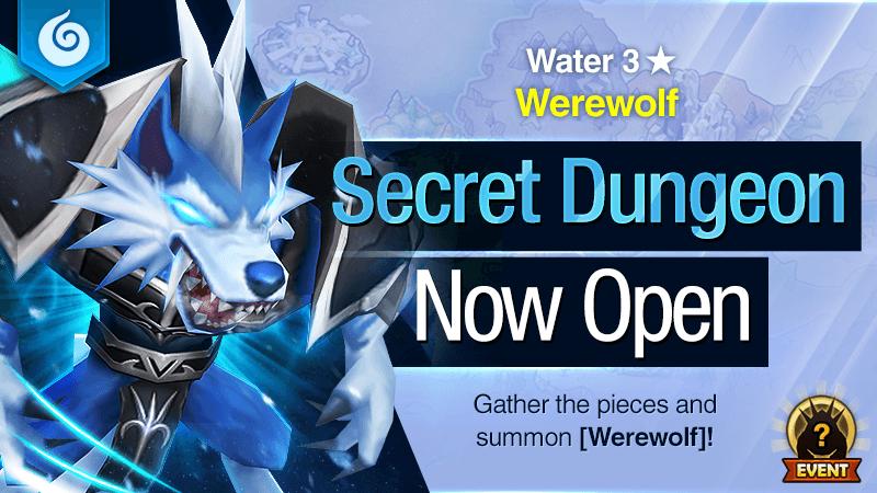 Secret Dungeon Werewolf Water