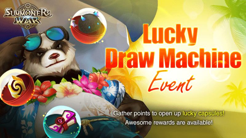 Lucky Draw Machine Event