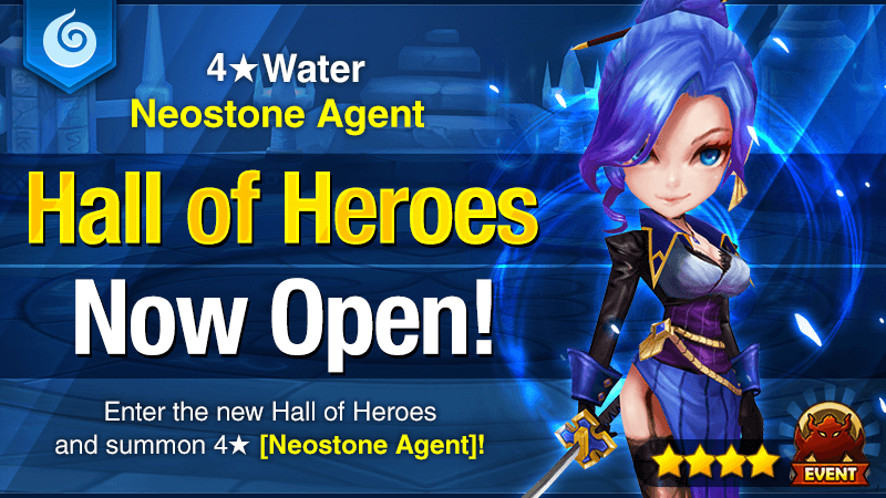 August Hall of Heroes - 4 Water Neostone Agent