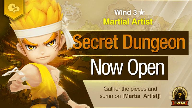 Secret Dungeon Martial Artist Wind