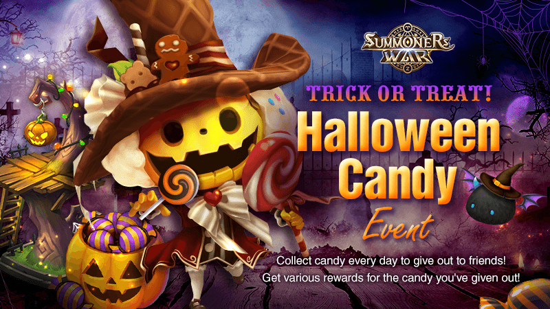 Trick or Treat Halloween Candy Event