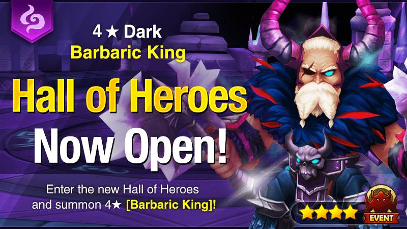 November Hall of Heroes - 4 Dark Barbaric King