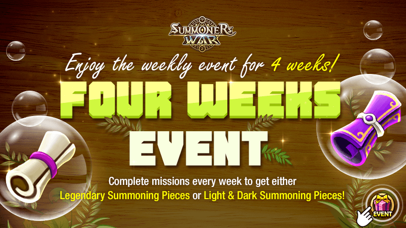 FOUR WEEKS Event