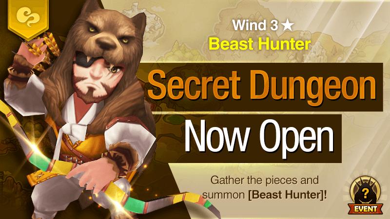 Secret Dungeon Beast Hunter Wind
