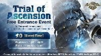 Trial of Ascension Free Entrance Event July 2017
