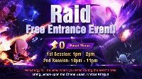 Rift Raid Free Entrance Event June 2018