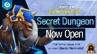 Summoners War Secret Dungeon Battle Mammoth Water