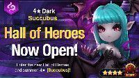 Summoners War June Hall of Heroes - 4 Dark Succubus