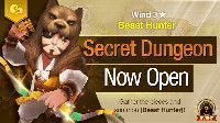 Secret Dungeon Beast Hunter Wind